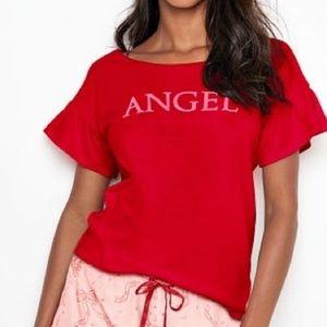 NWT Victoria's Secret ANGEL sleep lounge top